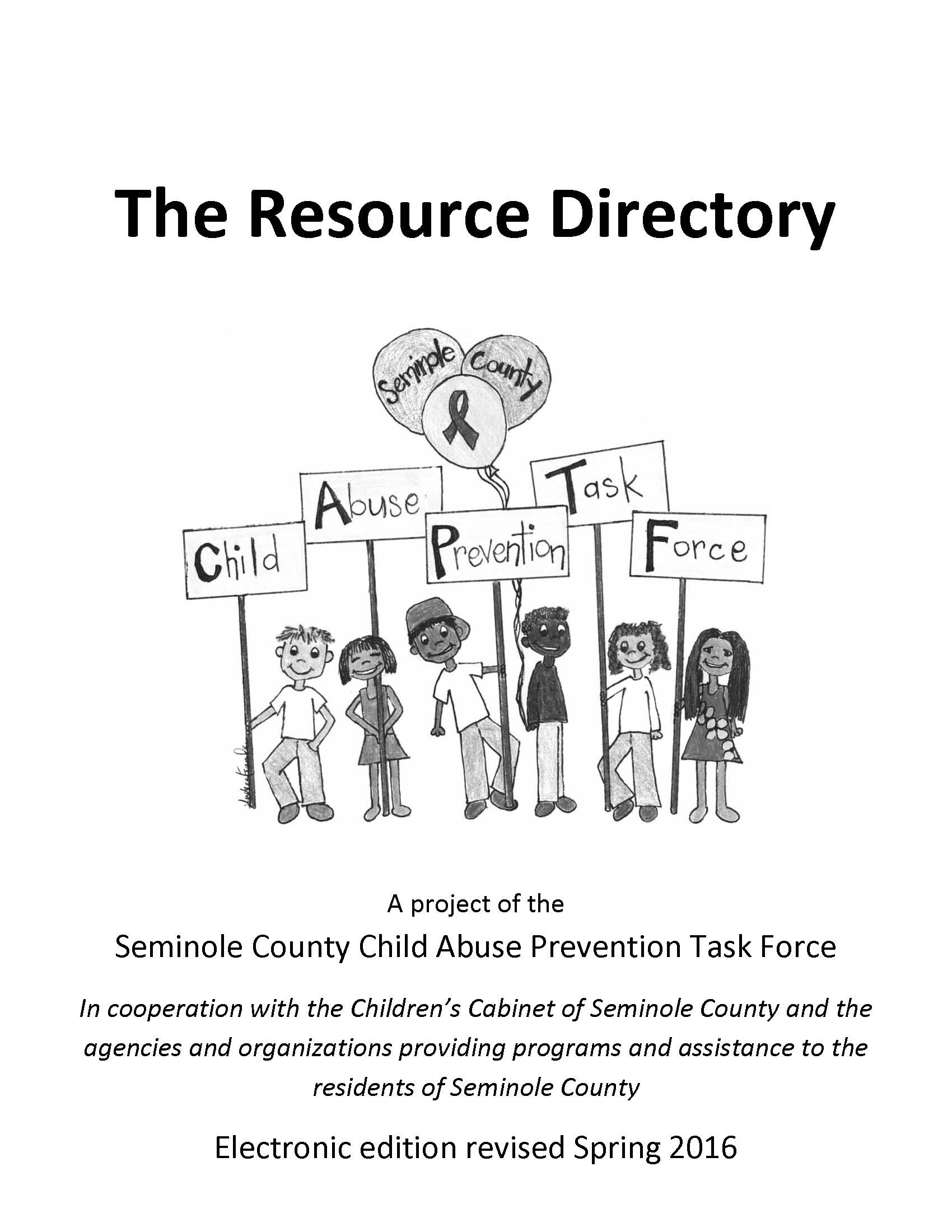 CAPTF Resource Directory UPDATED 5 16 2016 Page 01